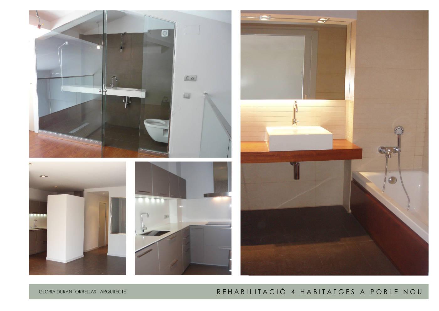 Dise o de viviendas en poble nou barcelona gloria duran - Local vivienda barcelona ...