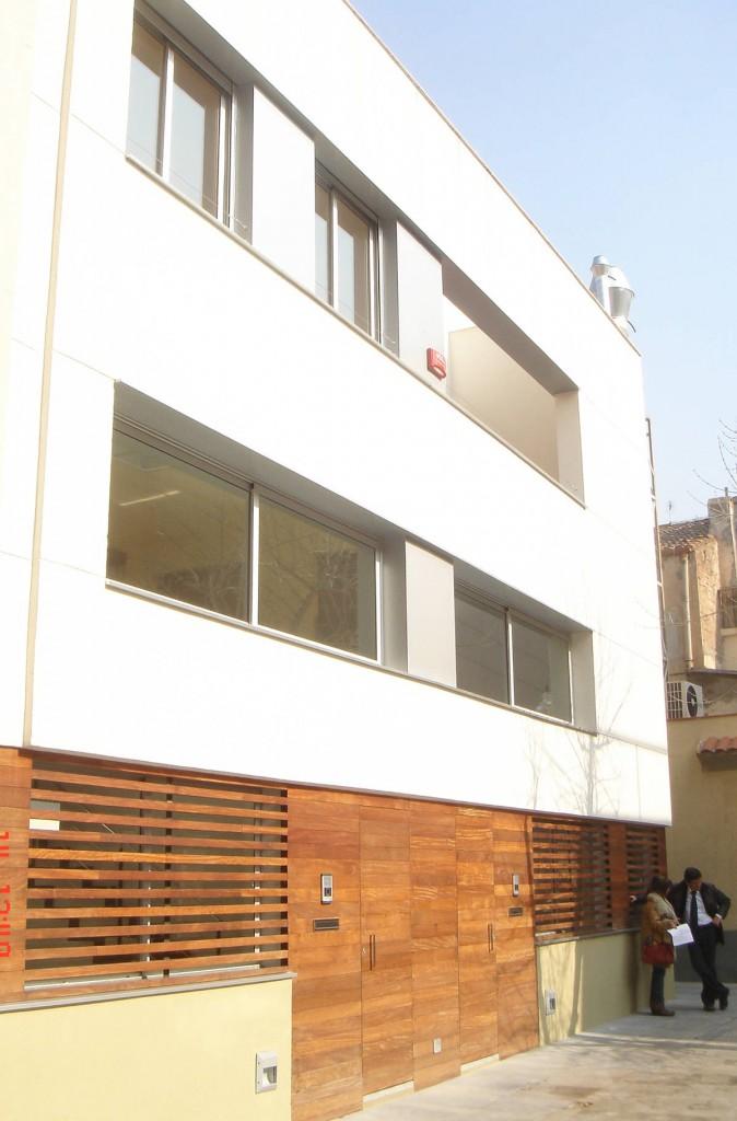 Gloria Duran Arquitecta - HABITATGES BARRIO DE SANT ANDREU - BARCELONA
