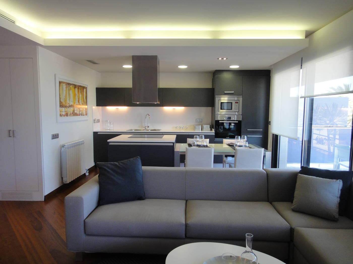 Edificio de apartamentos en el Paseo Marítimo de Cambrils. Tarragona