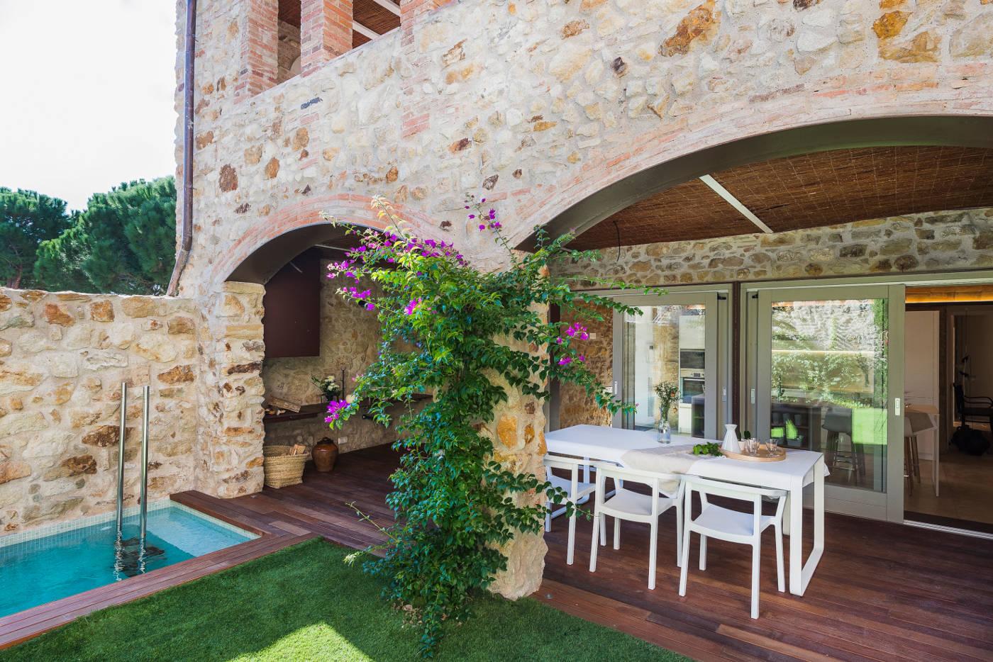 Rehabilitacion y reforma casas rusticas gloria duran estudio de arquitectura - Piedras para fachadas de casas rusticas ...