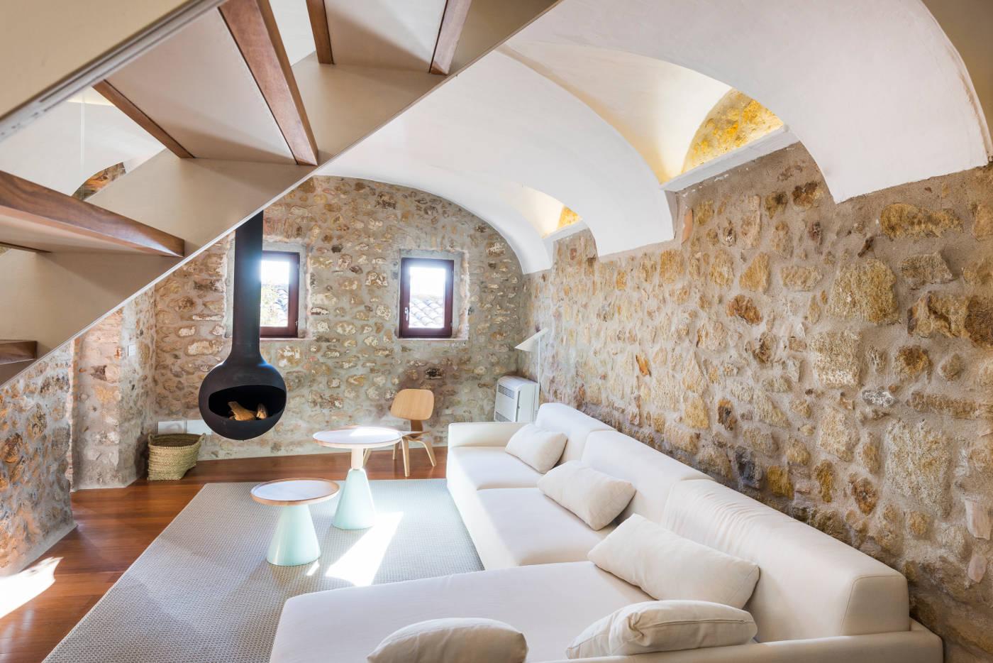 Interiorismo casas de pueblo gloria duran estudio de - Interiorismo de casas ...