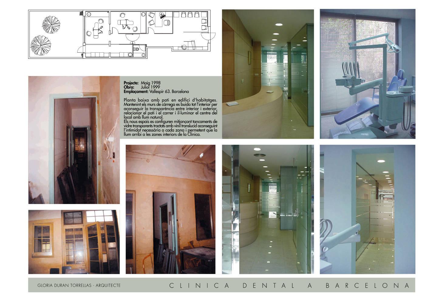 Rehabilitacion y reforma clinica dental gloria duran estudio de arquitectura - Proyecto clinica dental ...