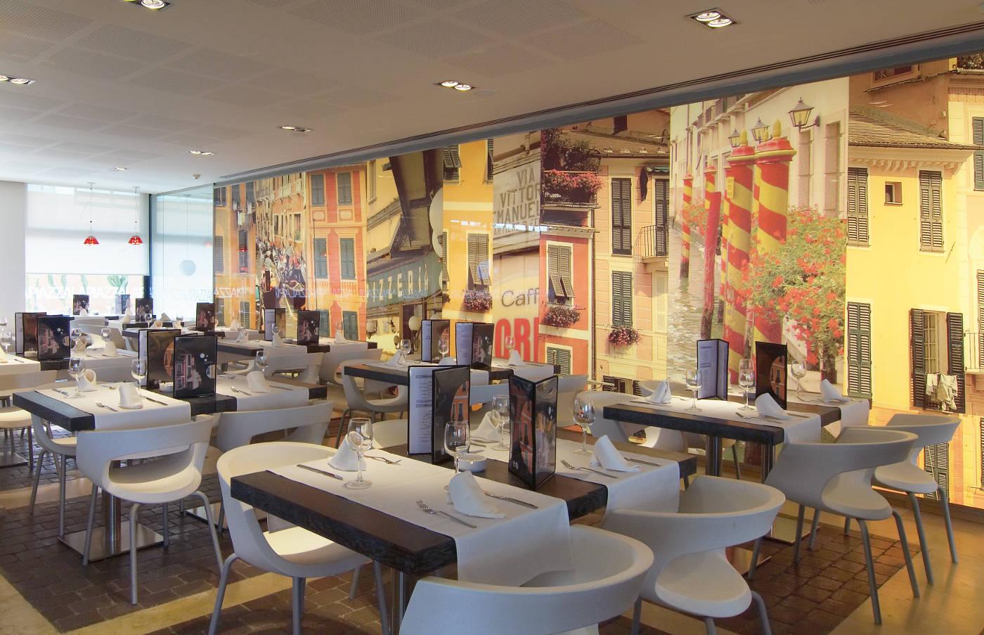 diseño interior pizzeria, gloria duran arquitecto barcelona