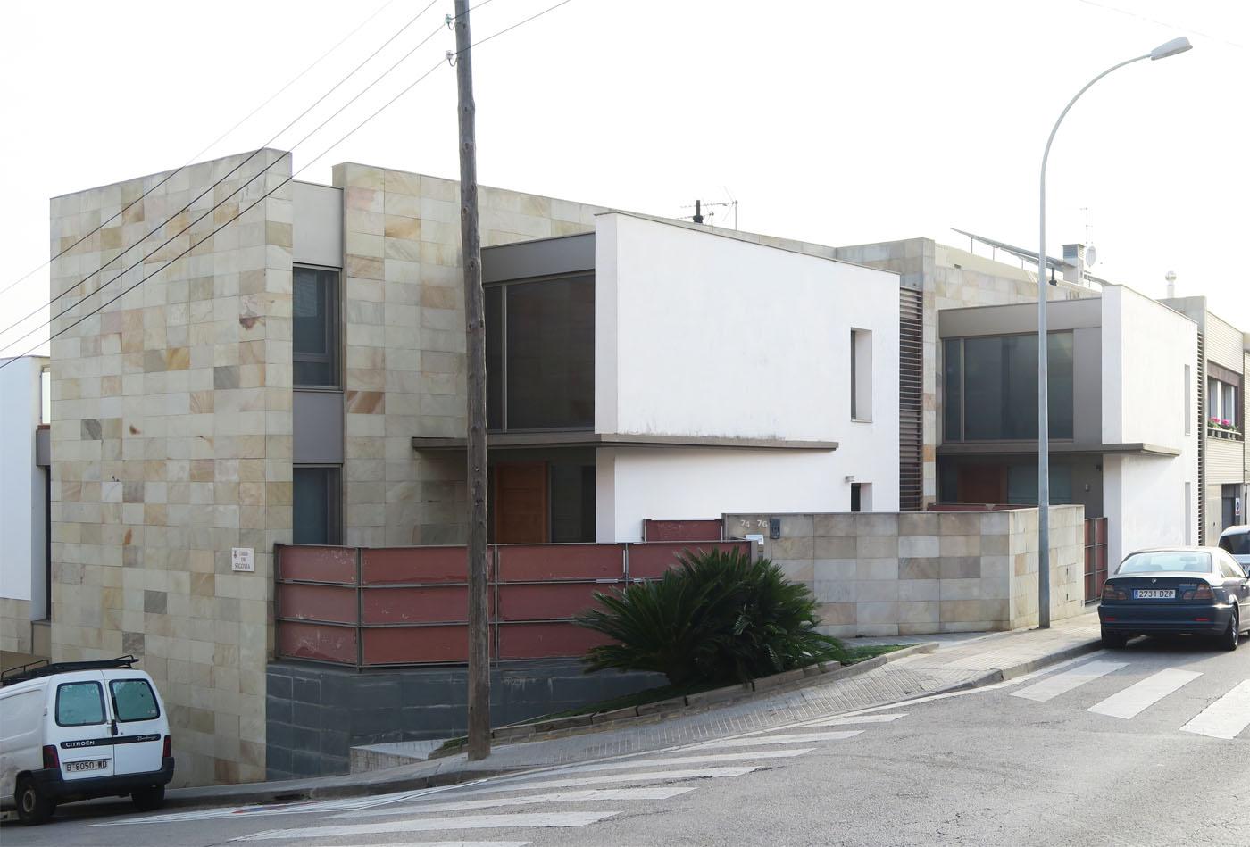 Viviendas adosadas en Rubi_Gloria Duran Arquitecto