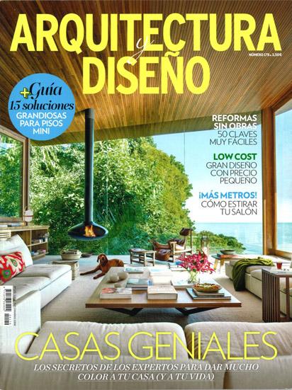 Arquitectura y Diseño núm 179 · Març 2016 · Samària 55 gloria-duran-arquitecto